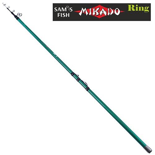 """Удочка с кольцами """"Mikado"""" 4м 3к SF23903"""