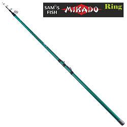 Вудка з кільцями & quot; Mikado & quot; 4м 3к SF23903 (50шт)