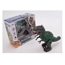 Динозавр 3839 (48шт) 28см, звук, світло, ходить, рухливі деталі, на бат-ке, в кор-ке, 22-21-10см