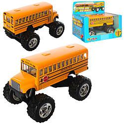 Автобус KS 5108 W (24шт) метал, інер-й, 13см, резін.кол, відкривши. двері, амортизації, в кор-ке, 15-13,5-9см