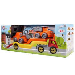 Автовоз с набором Стройплощадка ТехноК 3930