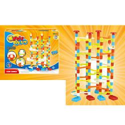 Игра 8202  горка-лабиринт, шарики, 176дет, в кор-ке, 34-26-6,5см