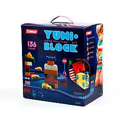 """Конструктор дитячий """"YUNI-BLOK"""" 136 (коробка)"""