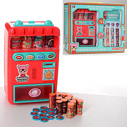 Меблі 8131 (18шт) автомат 21см, звук, світло, продукти, монети, на бат-ке, 32-26,5-10,5см