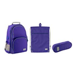 Набір рюкзак + пенал + сумка для взуття Kite 702-3 Smart син