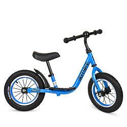Беговел PROFI KIDS детский 12 д. M 4067A-3 (1шт) рез.колеса, метал.обод, вис.до сидіння 30-43см, голуб
