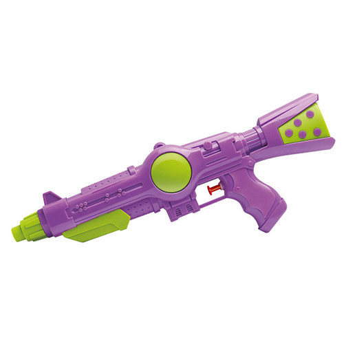 Водяний пістолет MR 0493 (72шт) розмір середній, 33,5см, 3цвета, в кульку, 17-33,5-4см