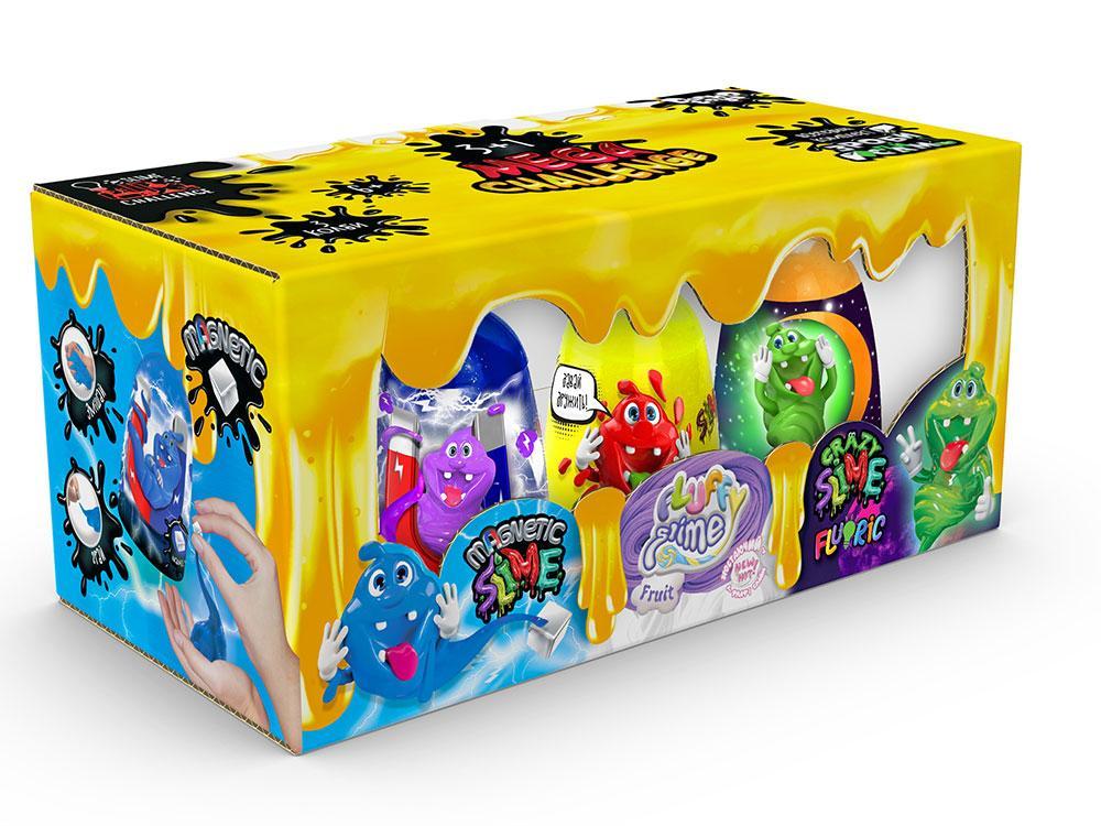 В'язка маса & quot; 3 в 1 & quot; Magnetic Slime & quot ;, & quot; Fluffy Slime & quot ;, & quot; Crazy Slime