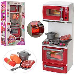 Меблі 66081 (48шт) кухня, пліта29-11-7см, продукти, звук, світло, на бат-ке, в кор-ке, 17-33,5-9,5см