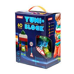 """Конструктор дитячий """"YUNI-BLOK"""" 60 (коробка)"""