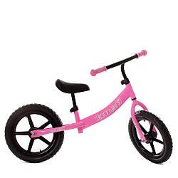 Беговел дитячий PROFI KIDS 14 д. М 5467-4 (1шт) колEVA, пласт.обод, рожевий