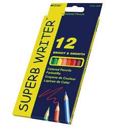 """Олівці 12 кольорів шестигранні, Superb Writer,4100-12CB,TM""""Marco"""""""