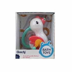 Іграшка G410 (36шт) для купання (механічні), лебідь-душ (механічні), 19см, в кор-ке, 19-21,5-13см