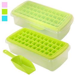 Форма для льоду з контейнером і лопаткою 27 * 13см R82591 (48шт)