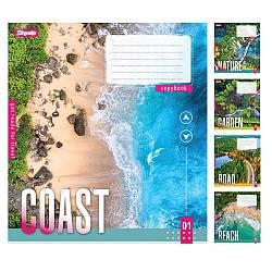 Тетрадь в линию 24 листов 1В Get ready for travel