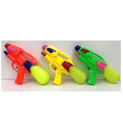 Водяной пистолет MR 0579  размер средний, 29,5см, 3цвета, в кульке, 19-29,5-6см
