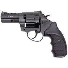 """Револьвер під патрон Флобера STALKER S Black 3"""". Барабан - силумін (ZST3B)"""