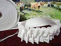 Тасьма для штор (гардин) широка 60мм бавовняна.