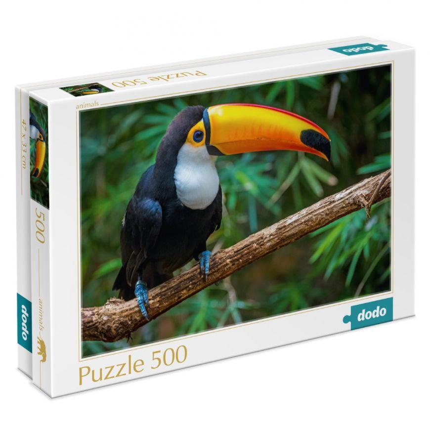 300400 Пазли Птах Тукан. Бразилія