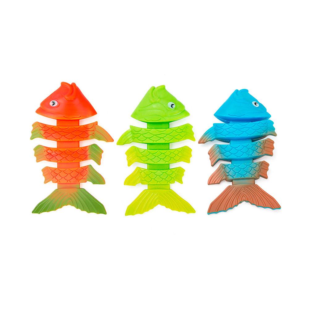 BW Гра 26029 (36шт) риба, 3 кольори