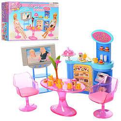 Меблі 2918 (24шт) кухня, стіл, крісло 2шт, телевізор, посуд, в кор-ке, 33-21-7см