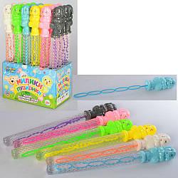 Мыльные пузыри 3828  меч, 36см, слон, 24шт(6цветов) в дисплее, 22,5-37-15см