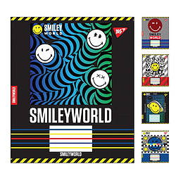 А5 / 12 кл. YES SMILEY WORLD, зошит вчений.