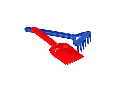 Набор №1: лопатка, грабельки Полесье