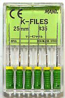 K-File 25мм, уп.6шт, №35, Mani