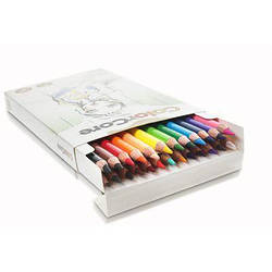 """Олівці 24 кольори круглі d=4.0+1 графитний НВ,ColorCore (new),3130-24CB,TM""""Marco"""""""