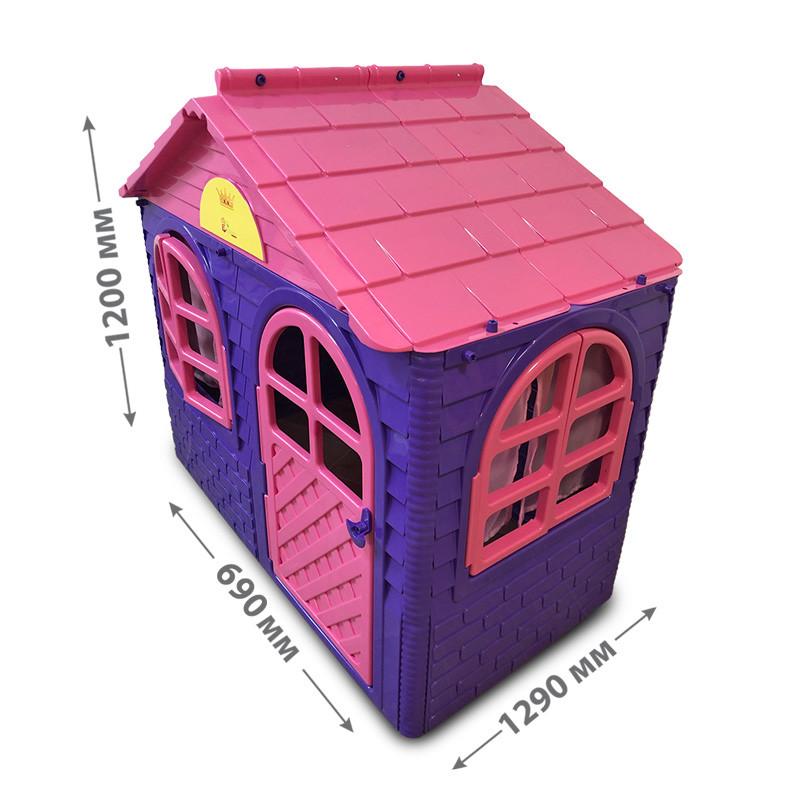 """DOLONI-TOYS """"Будинок з шторками"""", 1290*1200*690 мм,  артикул 0255010"""