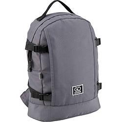 Рюкзак GoPack Сity 148-3 сірий