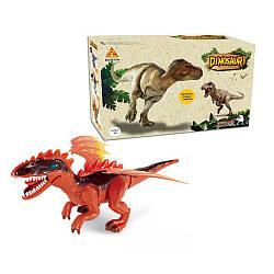 Динозавр 60095A (24шт) 49см, звук, світло, ходить, на бат-ке, в кор-ке, 36-22-14см