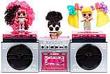 Определенная Леди Радикал Radical Q.T. ЛОЛ Музыкальный Сюрприз Оригинал LOL Remix Hair Flip Hairflip 566960, фото 6