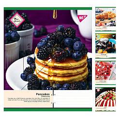 Тетрадь в линию 18 листов YES Pancakes