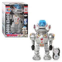 Робот 28085  ду-ИК,муз,звук(англ),свет,танцует,стреляет дисками,на бат-ке,в кор-ке,32-22-16см