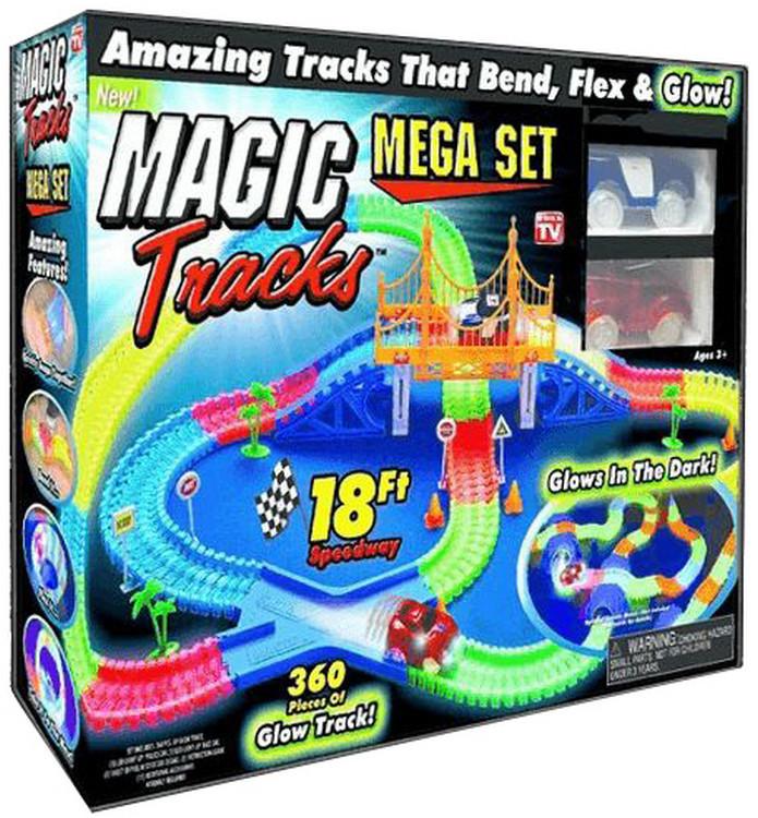 Гоночный автотрек на 360 деталей  Magic Tracks (Реплика)