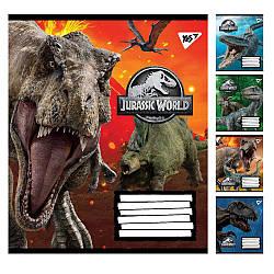 А5 / 12 кіс. YES Jurassic World. Genetic failure, зошит вчений.
