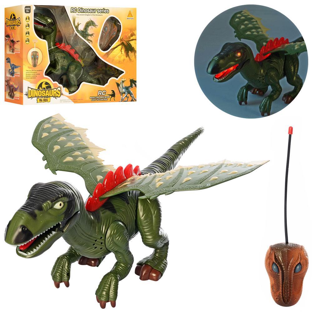 Динозавр 60101  ру, 47см, звук, свет, ходит, на бат-ке, в кор-ке, 48-33-15см
