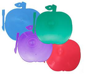 Дошка для пластиліну  (яблуко) +стік, мікс, LD