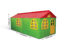 DOLONI-TOYS & quot; Будинок з шторками & quot; артикул 02550/23