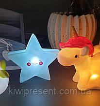 """Светильник Silver Light """"Звезда"""" Ночник детский настольный звездочка Светодиодный ночник в виде звезды"""