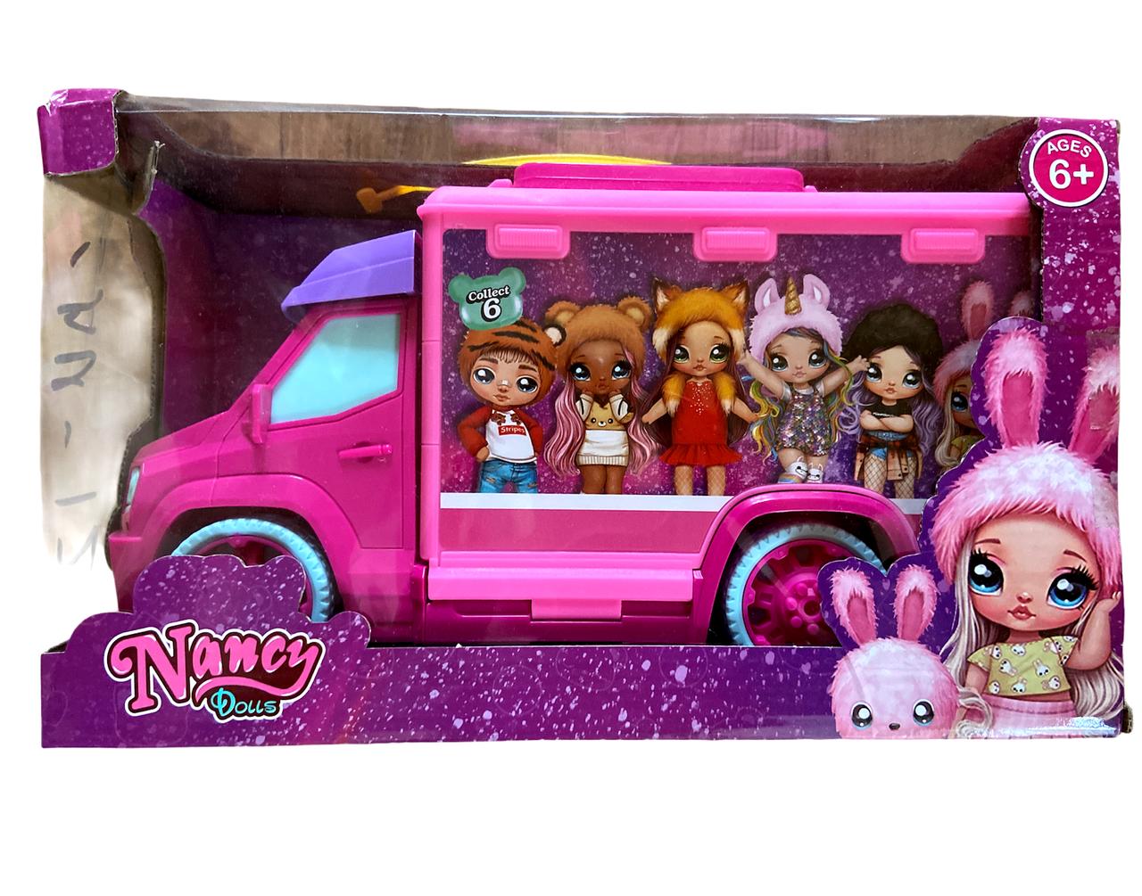 Набір лялька з автомобілем і аксесуарами SA012