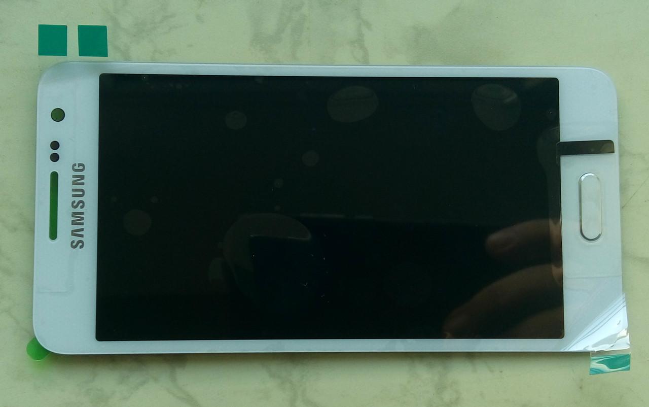 Дисплей модуль Samsung A300F Galaxy A3 в зборі з тачскріном, білий