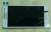 Samsung A300 Galaxy A3 дисплей LCD + тачскрін сенсор білий оригінальний