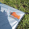 Автоматическая пляжная палатка. Палатка пляжная самораскладывающаяся. 150х165х110 см, фото 8