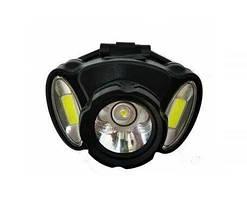 Налобный фонарь Bailong BL 936  COB c USB зарядкой Черный