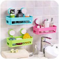 Полка для ванной на присосках Bathroom Shelves