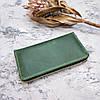 Шкіряне портмоне на блискавці, клатч чоловічий, жіночий, фото 5