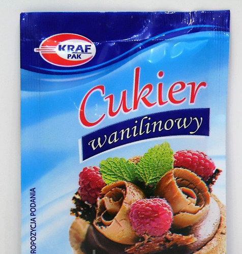 Ванільний цукор Kraf Pak, в пакетиках16г (Польща)